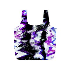 Abstract Canvas Acrylic Digital Design Full Print Recycle Bags (s)