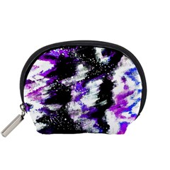 Abstract Canvas Acrylic Digital Design Accessory Pouches (small)