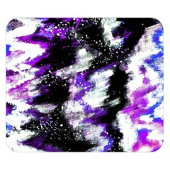 Abstract Canvas Acrylic Digital Design Double Sided Flano Blanket (small)