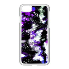 Abstract Canvas Acrylic Digital Design Apple Iphone 7 Seamless Case (white)