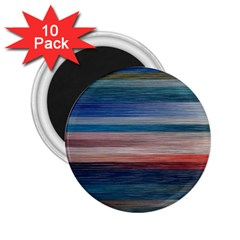 Background Horizontal Lines 2 25  Magnets (10 Pack)