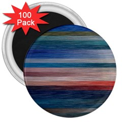 Background Horizontal Lines 3  Magnets (100 Pack)
