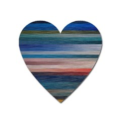 Background Horizontal Lines Heart Magnet