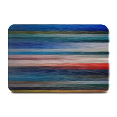 Background Horizontal Lines Plate Mats