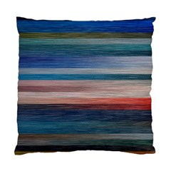 Background Horizontal Lines Standard Cushion Case (two Sides)