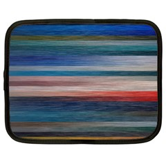 Background Horizontal Lines Netbook Case (XL)