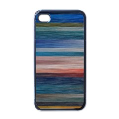 Background Horizontal Lines Apple Iphone 4 Case (black)