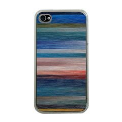 Background Horizontal Lines Apple Iphone 4 Case (clear)