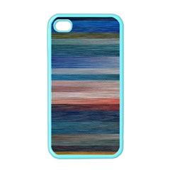 Background Horizontal Lines Apple Iphone 4 Case (color)