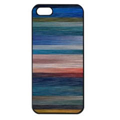 Background Horizontal Lines Apple Iphone 5 Seamless Case (black)