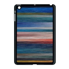 Background Horizontal Lines Apple Ipad Mini Case (black)