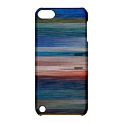 Background Horizontal Lines Apple Ipod Touch 5 Hardshell Case With Stand