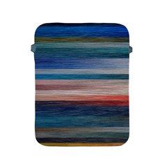 Background Horizontal Lines Apple Ipad 2/3/4 Protective Soft Cases