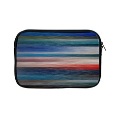 Background Horizontal Lines Apple Ipad Mini Zipper Cases