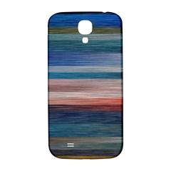 Background Horizontal Lines Samsung Galaxy S4 I9500/i9505  Hardshell Back Case