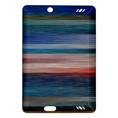 Background Horizontal Lines Amazon Kindle Fire Hd (2013) Hardshell Case