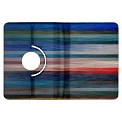 Background Horizontal Lines Kindle Fire Hdx Flip 360 Case