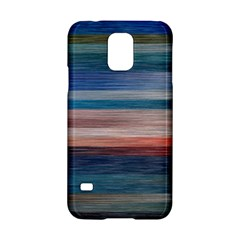 Background Horizontal Lines Samsung Galaxy S5 Hardshell Case