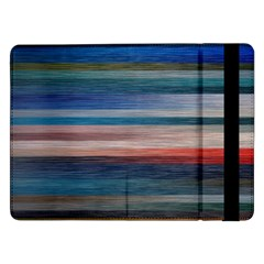 Background Horizontal Lines Samsung Galaxy Tab Pro 12 2  Flip Case