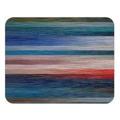 Background Horizontal Lines Double Sided Flano Blanket (large)