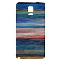 Background Horizontal Lines Galaxy Note 4 Back Case
