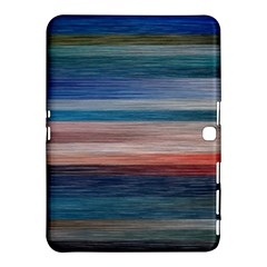 Background Horizontal Lines Samsung Galaxy Tab 4 (10 1 ) Hardshell Case