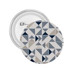 Geometric Triangle Modern Mosaic 2 25  Buttons