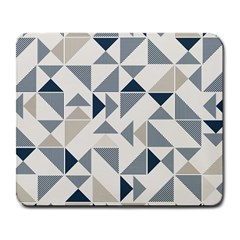 Geometric Triangle Modern Mosaic Large Mousepads