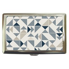 Geometric Triangle Modern Mosaic Cigarette Money Cases