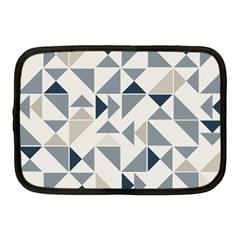 Geometric Triangle Modern Mosaic Netbook Case (medium)