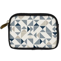 Geometric Triangle Modern Mosaic Digital Camera Cases