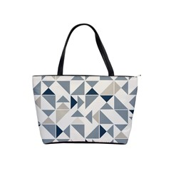 Geometric Triangle Modern Mosaic Shoulder Handbags