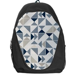 Geometric Triangle Modern Mosaic Backpack Bag