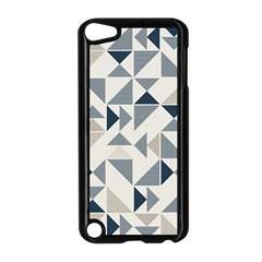 Geometric Triangle Modern Mosaic Apple Ipod Touch 5 Case (black)