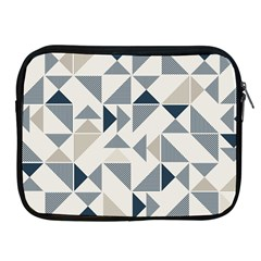 Geometric Triangle Modern Mosaic Apple Ipad 2/3/4 Zipper Cases