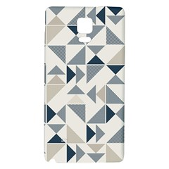 Geometric Triangle Modern Mosaic Galaxy Note 4 Back Case