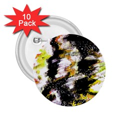 Canvas Acrylic Digital Design Art 2 25  Buttons (10 Pack)