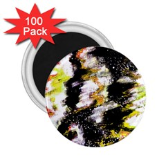 Canvas Acrylic Digital Design Art 2 25  Magnets (100 Pack)