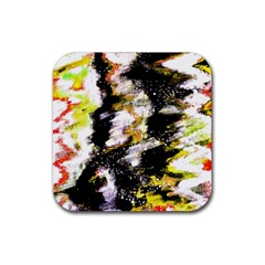 Canvas Acrylic Digital Design Art Rubber Coaster (square)