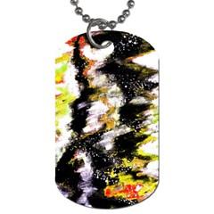Canvas Acrylic Digital Design Art Dog Tag (one Side)