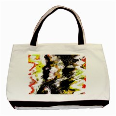 Canvas Acrylic Digital Design Art Basic Tote Bag