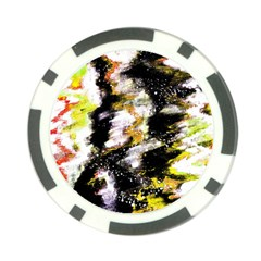 Canvas Acrylic Digital Design Art Poker Chip Card Guards