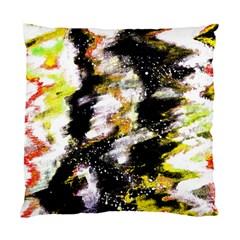 Canvas Acrylic Digital Design Art Standard Cushion Case (one Side)