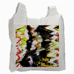 Canvas Acrylic Digital Design Art Recycle Bag (Two Side)