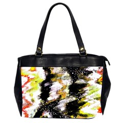Canvas Acrylic Digital Design Art Office Handbags (2 Sides)