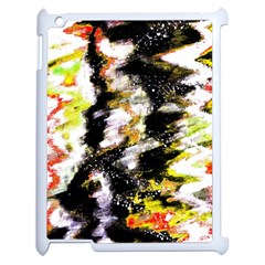 Canvas Acrylic Digital Design Art Apple Ipad 2 Case (white)