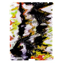Canvas Acrylic Digital Design Art Apple Ipad 3/4 Hardshell Case (compatible With Smart Cover)