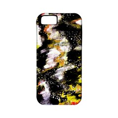 Canvas Acrylic Digital Design Art Apple Iphone 5 Classic Hardshell Case (pc+silicone)