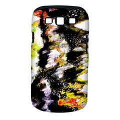 Canvas Acrylic Digital Design Art Samsung Galaxy S Iii Classic Hardshell Case (pc+silicone)