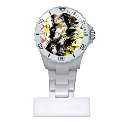 Canvas Acrylic Digital Design Art Plastic Nurses Watch